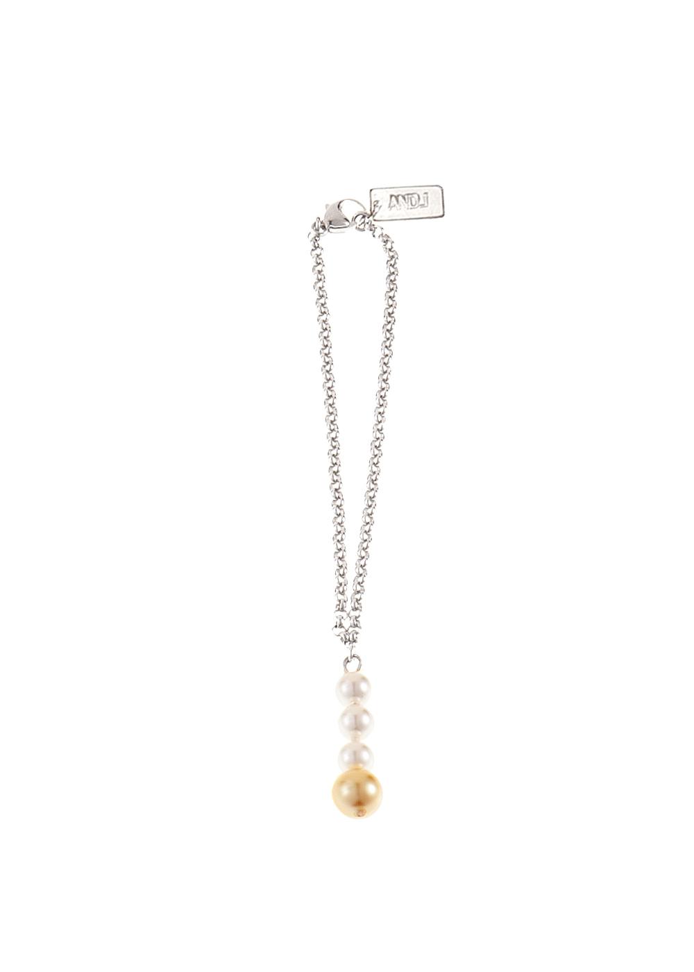 Drop Pearl Chain Wristband
