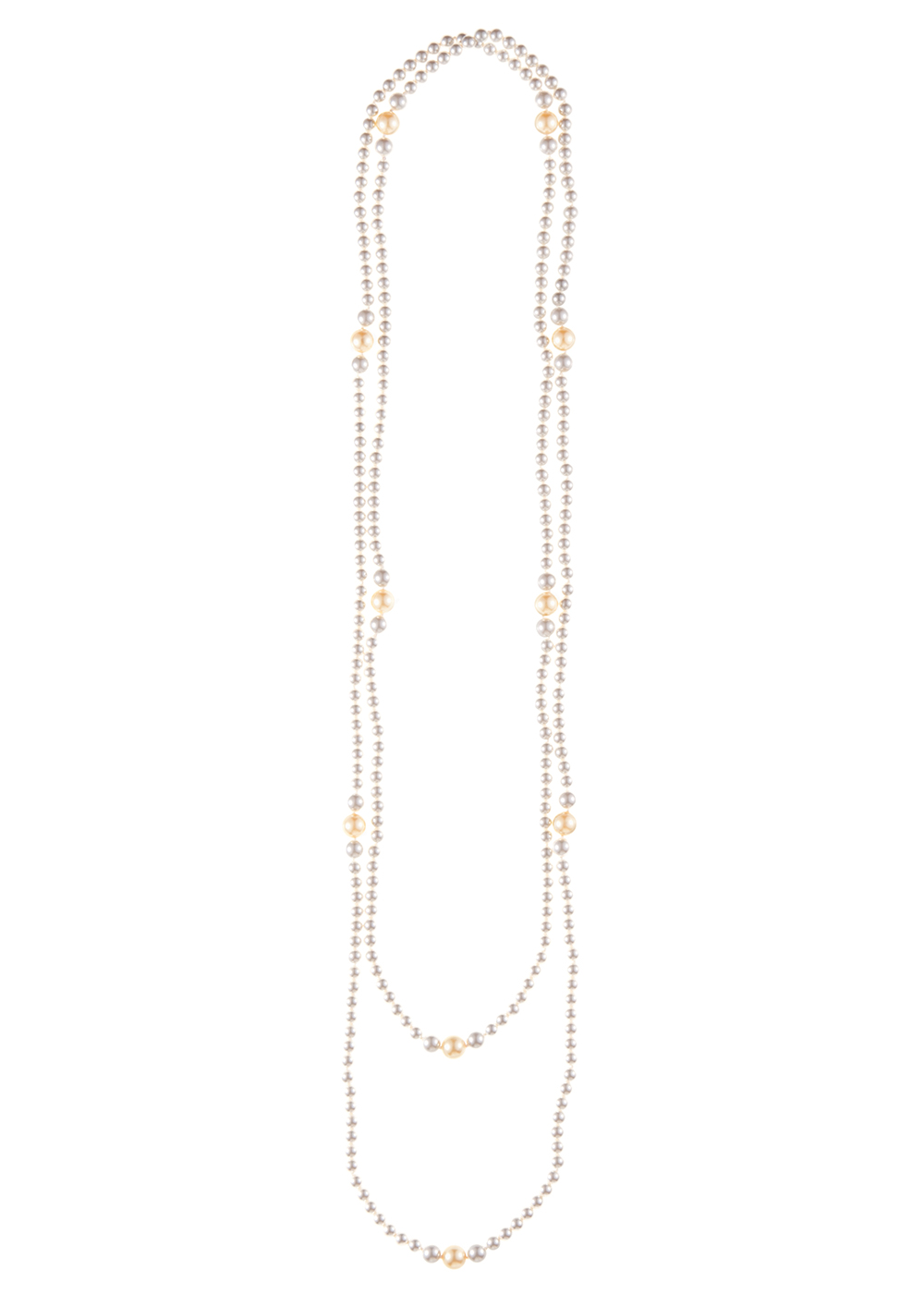 Extra Long Drop Pearl Chain