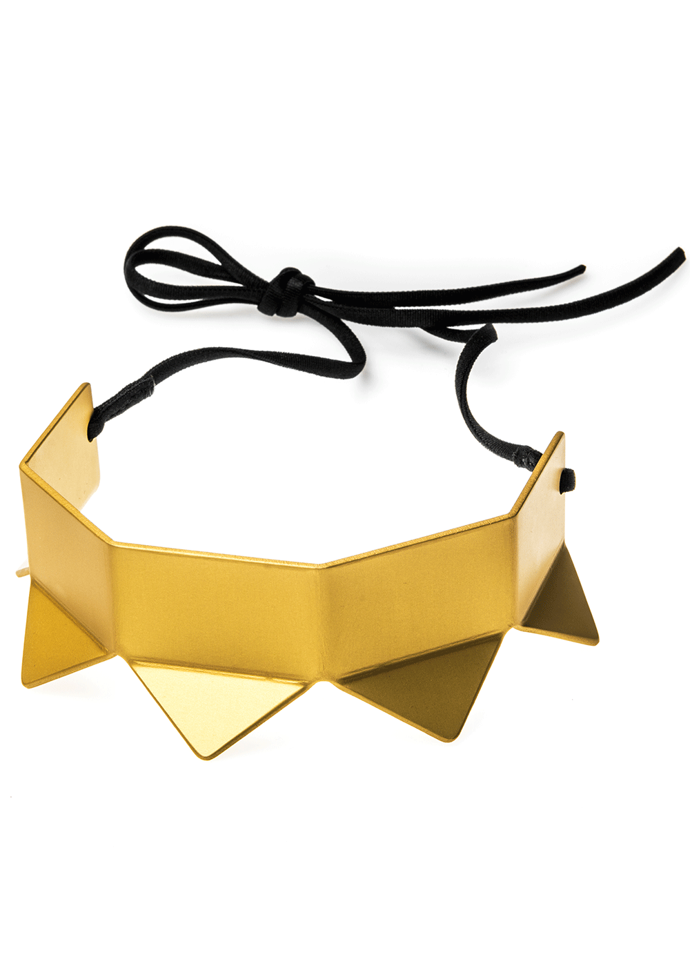 prong neck simple, gold