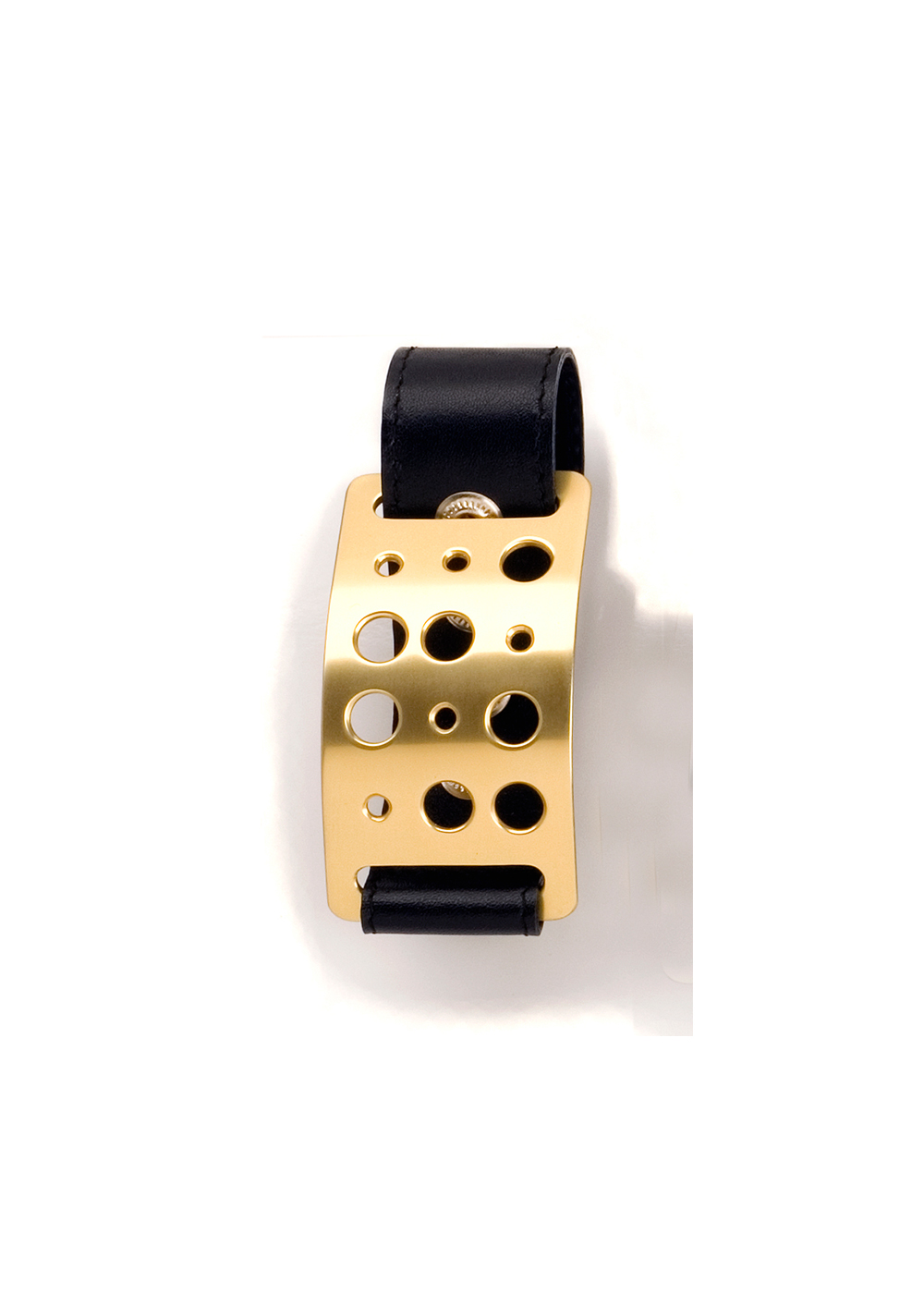 Simple Code Wrist Buckle, gold