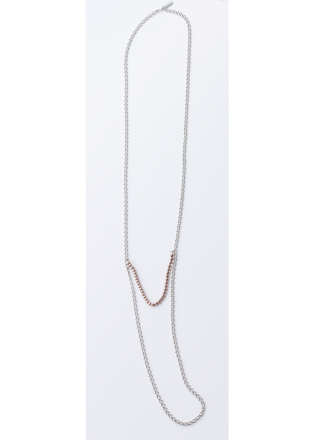 Centered Pearl Slim Chain