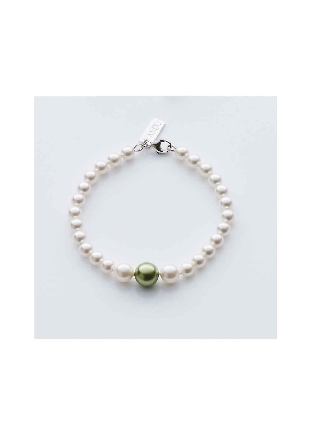 Drop Pearl Slim Bracelet