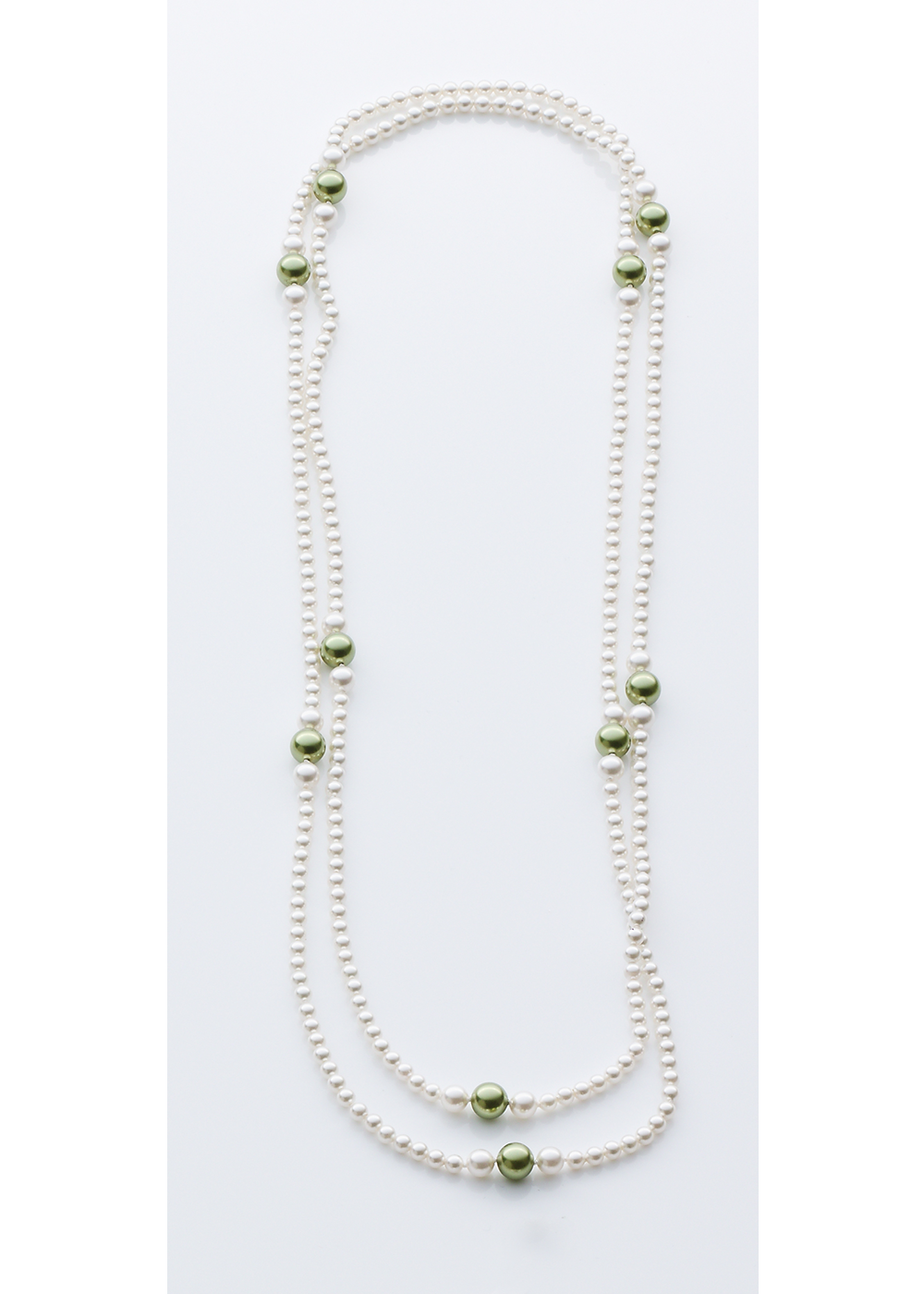 Extra Slim Drop Pearl Chain