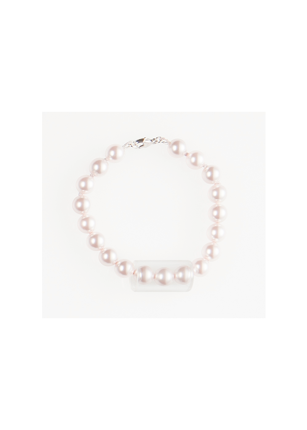 Pearl Tube Bracelet