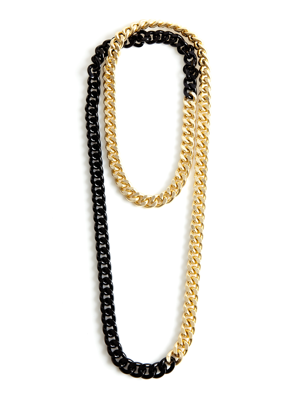 shizo-chain, black / gold
