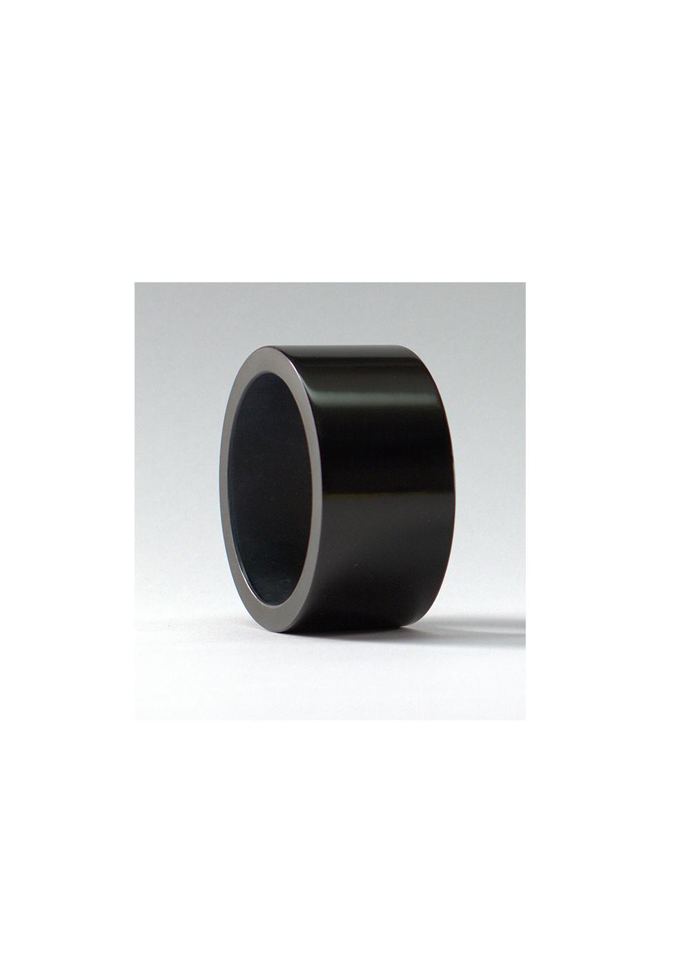 simple bold bracelet bling, black