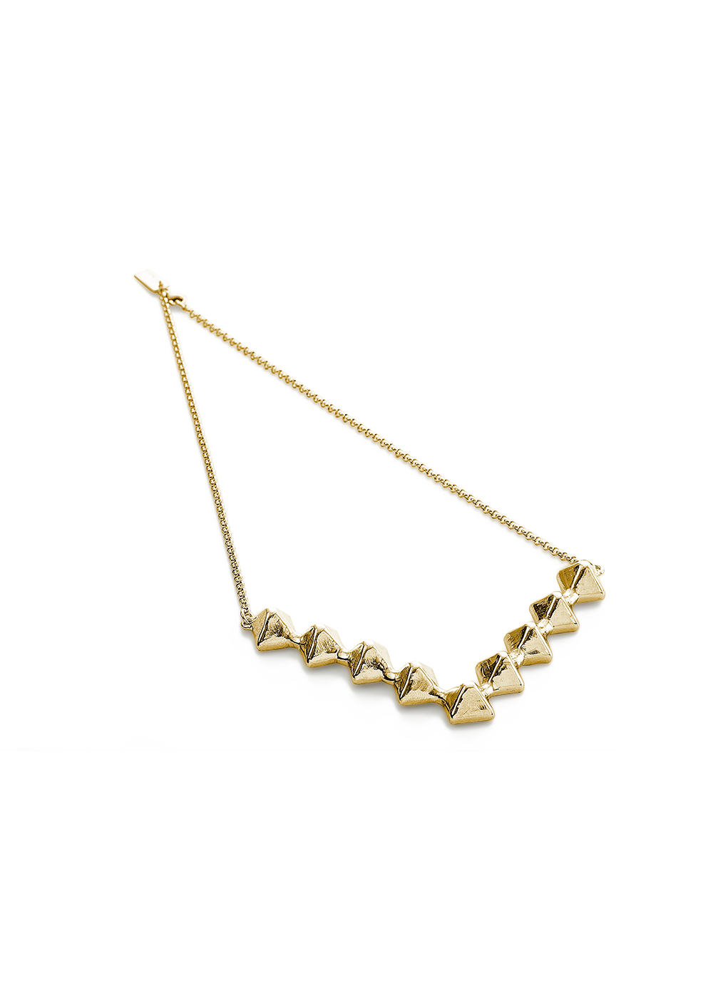 Small Stud Necklace
