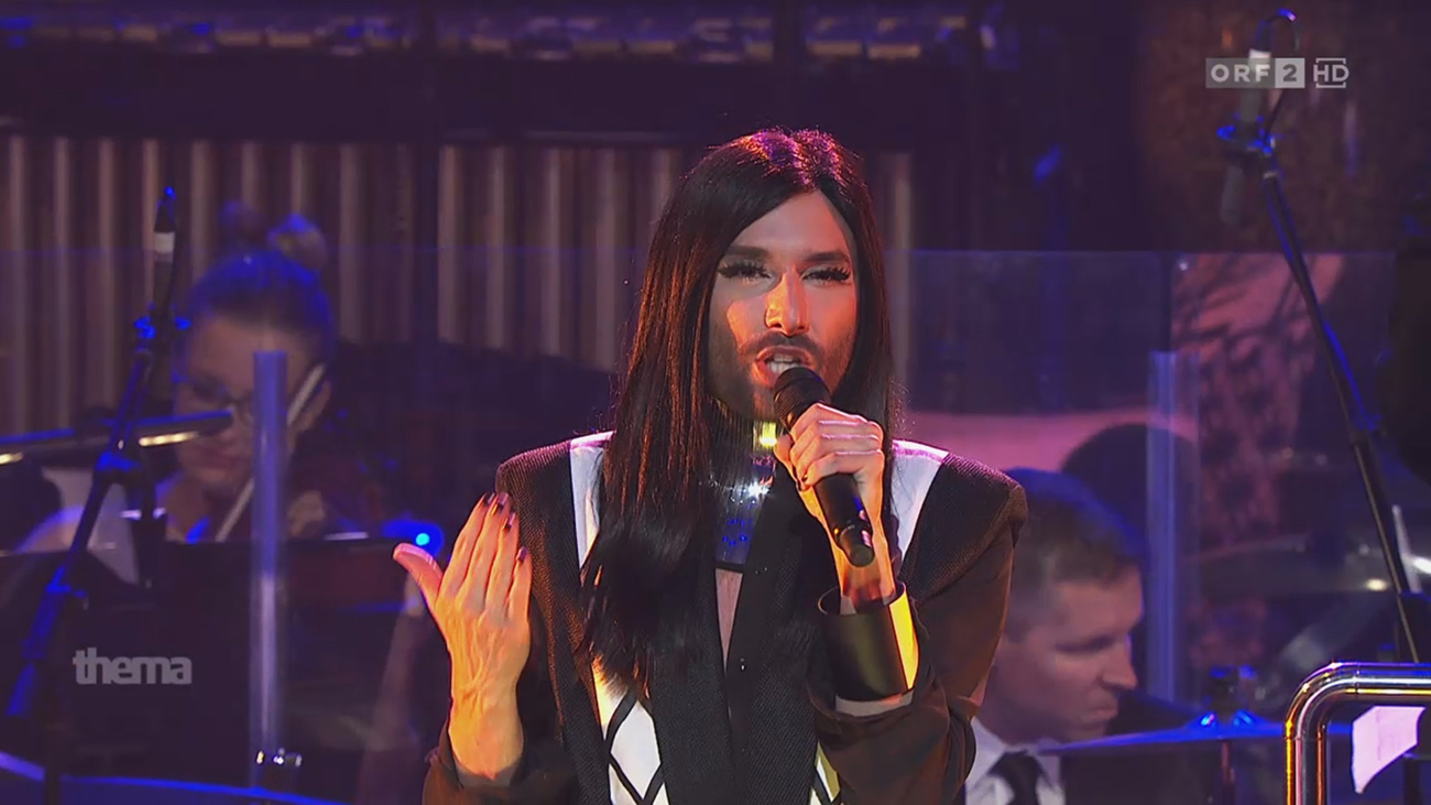 CONCHITA WURST wearing AND_i